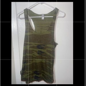 Alternative Women's Camo Tank Top Size M